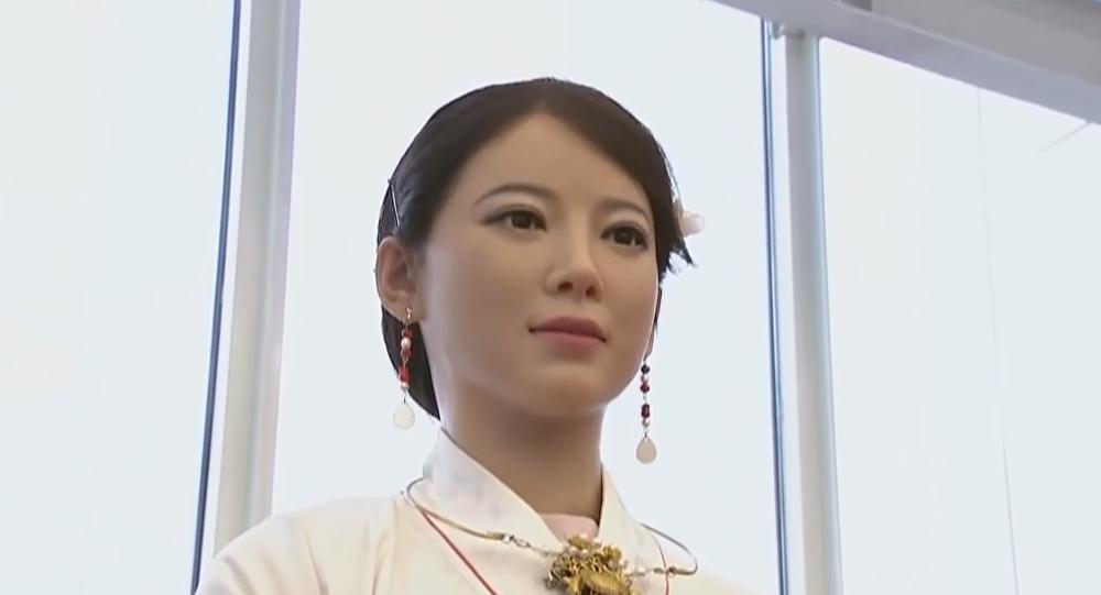 Resultado de imagen de Vídeo: presentan en China uno de los robots 'más humanos' jamás creado