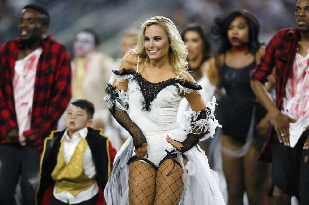 Elevando el espíritu: las animadoras más guapas del mundoLas 'cheerleaders' del equipo Dallas Cowboys disfrazadas de Halloween durante el partido de fútbol americano contra los Philadelphia Eagles. Arlington (Texas, EEUU)