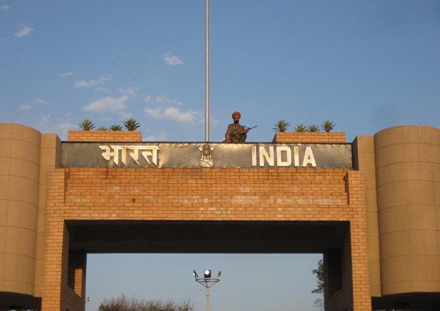 La frontera entre Pakistán y la India