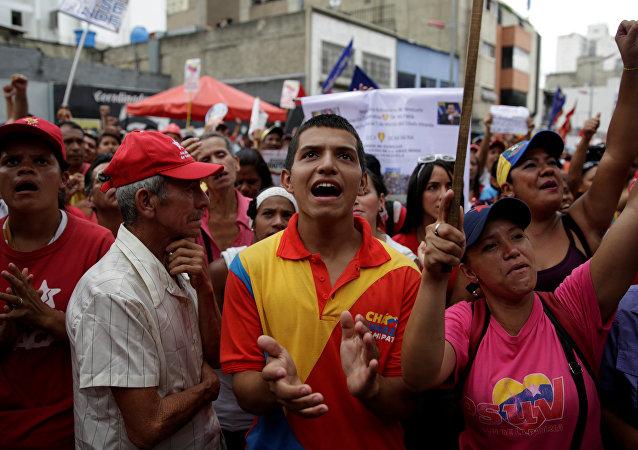 Los partidarios de Maduro (archivo)