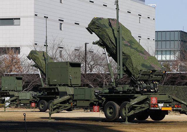 Los sistemas antimisiles japoneses de fabricación estadounidense, Patriot, desplegados en Tokio, el 31 de enero de 2016