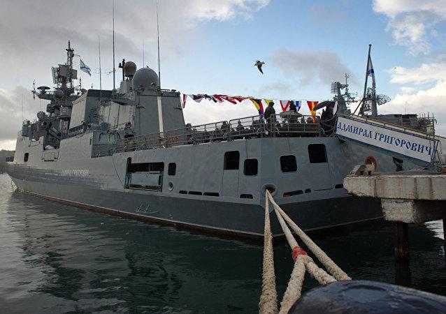 Fragata rusa Almirante Grigoróvich