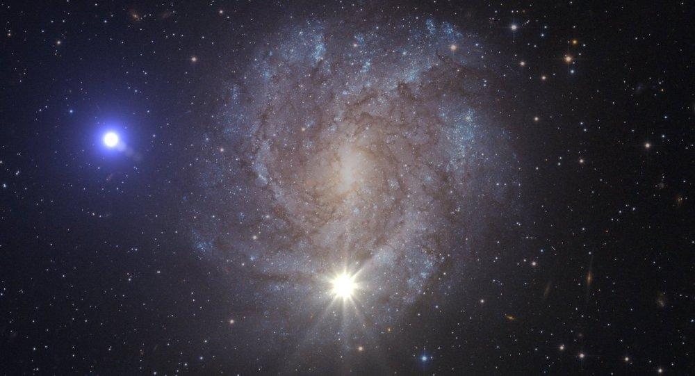 Supernova y la estrella expulsada (imagen referencial)