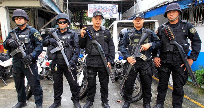 Policía Nacional de Filipinas (archivo)