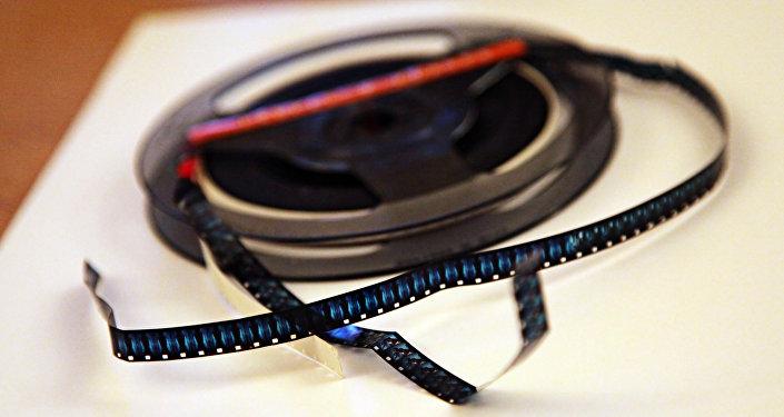 La cinta con película