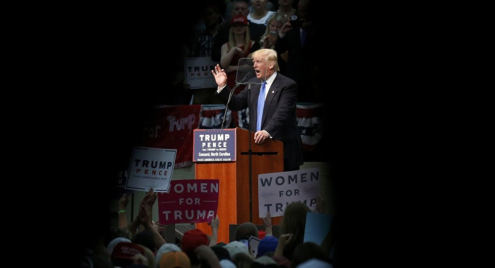 """Trump promete que """"EEUU dejará de derrocar regímenes"""""""