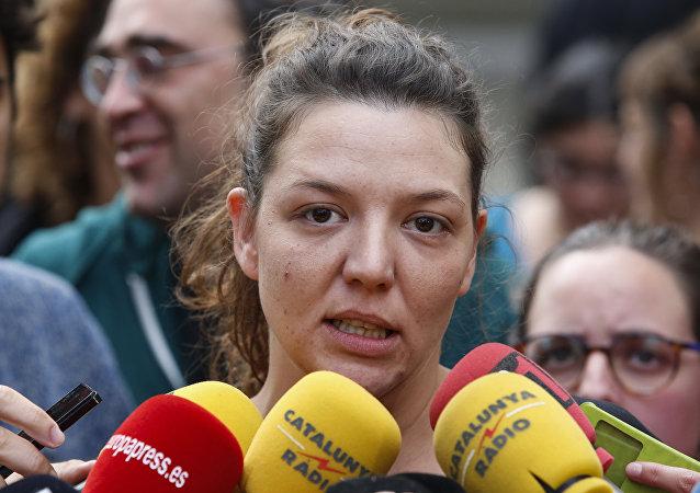 Alcaldesa de la localidad catalana de Berga, Montserrat Venturós