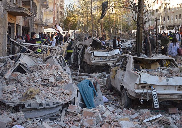 Las consecuencias del atentado en Diyarbakir