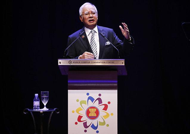 Najib Razak, el ex primer ministro de Malasia