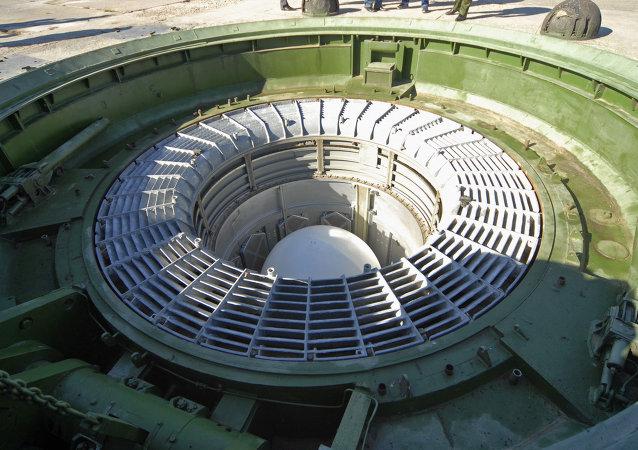 Un silo de un misil balístico ruso (archivo)