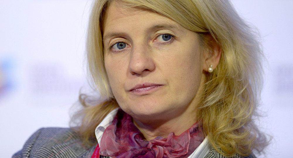 Natalia Kasperskaya, la directora general del grupo de compañías InfoWatch y fundadora de Kaspersky Lab