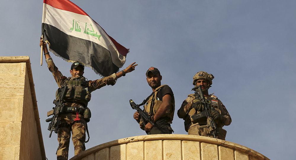 Fuerzas especiales iraquíes en las inmediaciones de Mosul, 21 de octubre de 2016