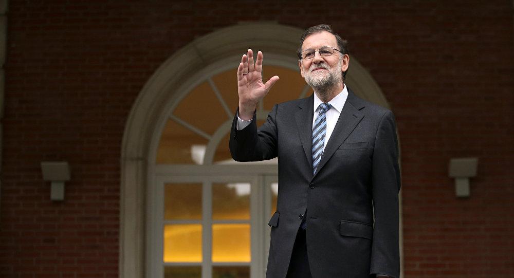 Mariano Rajoy tras retomar la presidencia del Gobierno español