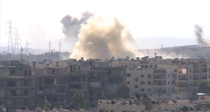 Camino hacia la libertad: el Ejército sirio avanza en su ofensiva en el oeste de Alepo