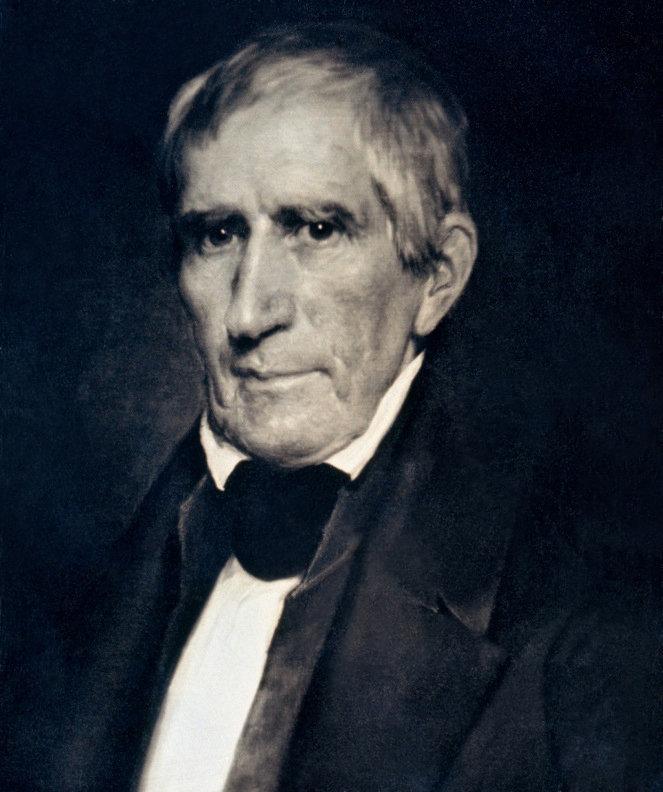 El daguerrotipo de William Henry Harrison