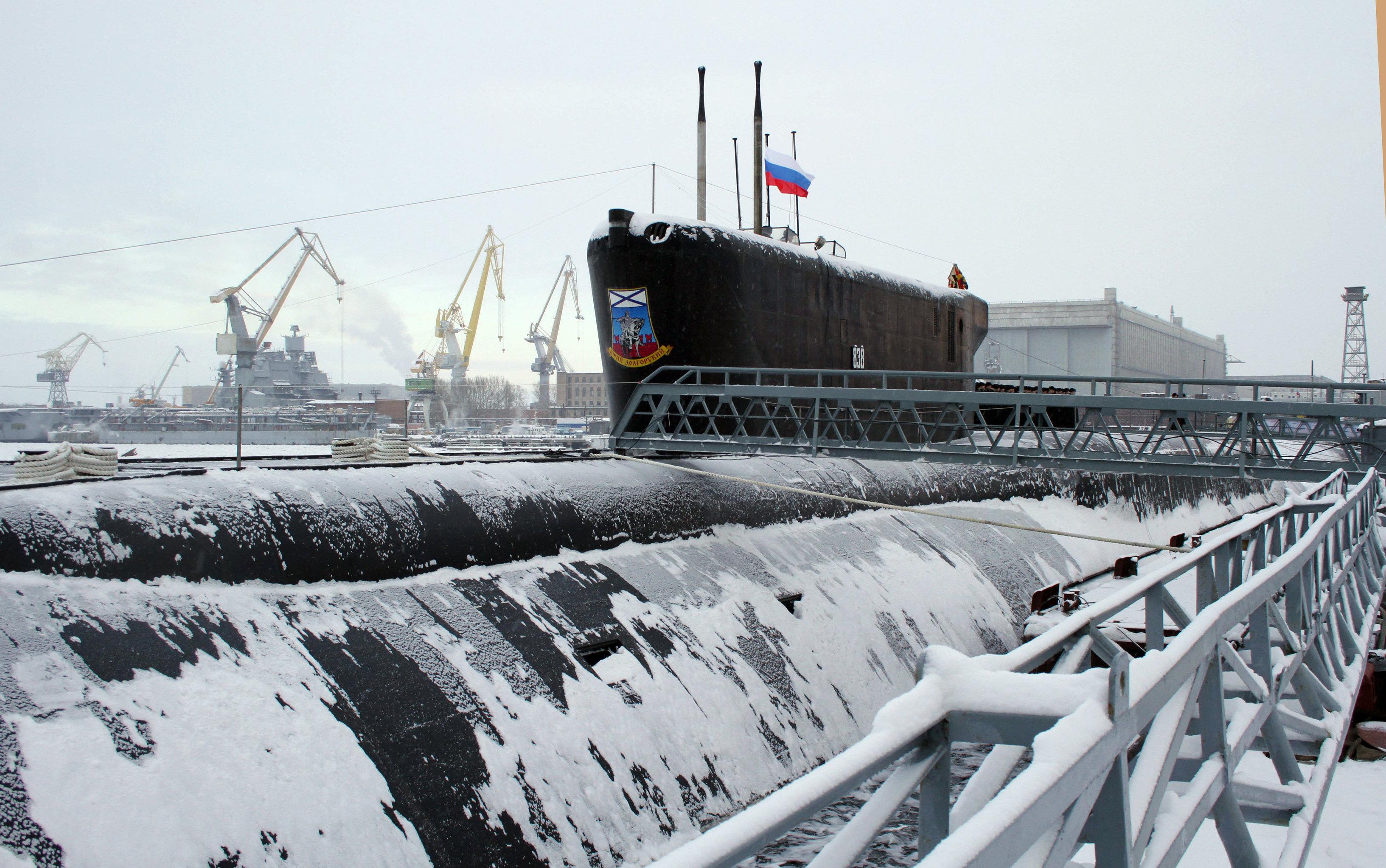 Submarino Borei. Rusia. 24.000 toneladas