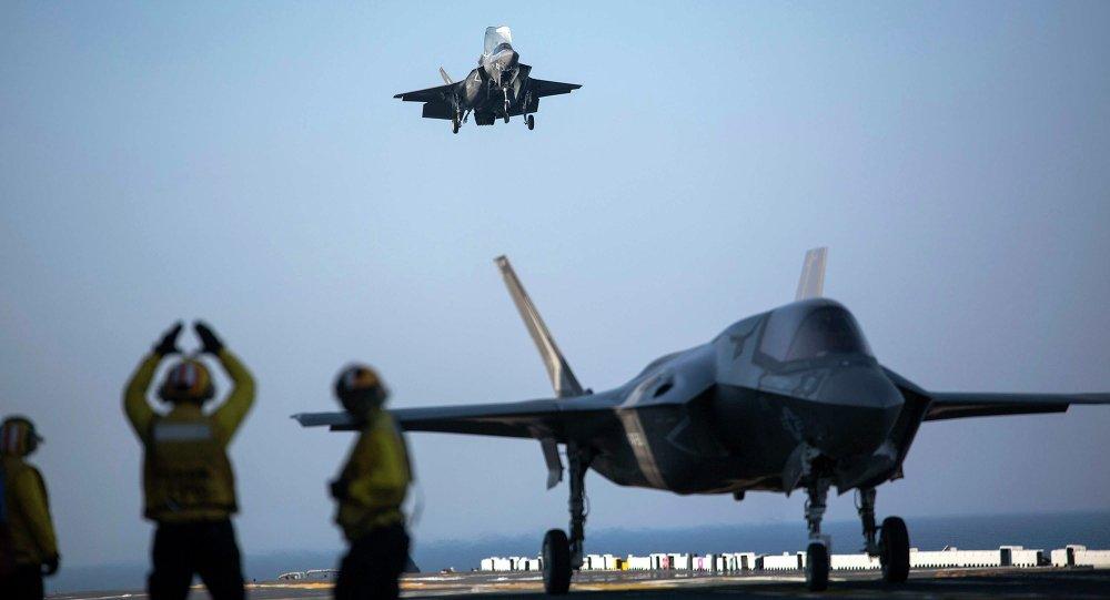 El caza F-35B