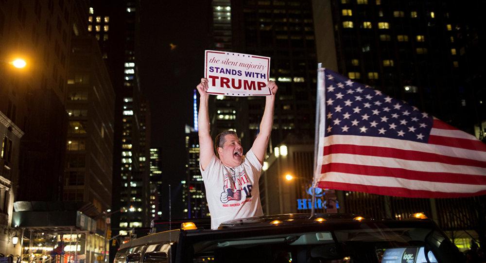 Los seguidores de Donald Trump
