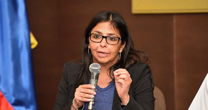 Delcy Rodríguez, ministra de Exteriores de Venezuela (archivo)