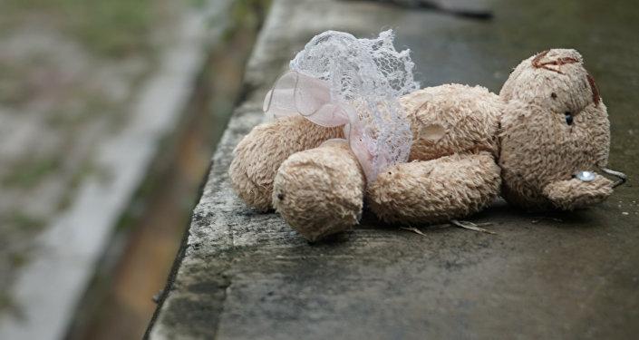 Un juguete de peluche