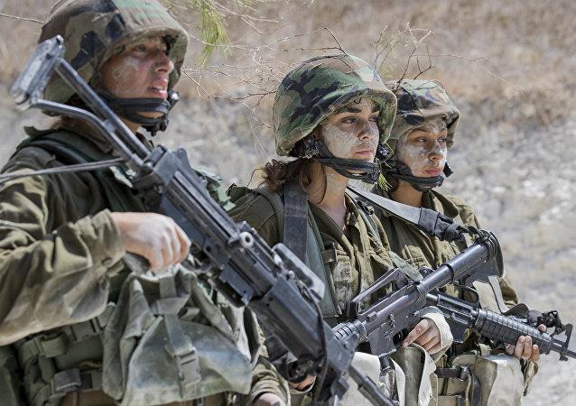 Soldados del Ejército de Israel