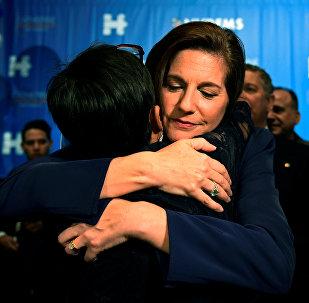 Catherine Cortez Masto, primera senadora de ascendencia latinoamericana en la historia de los EEUU