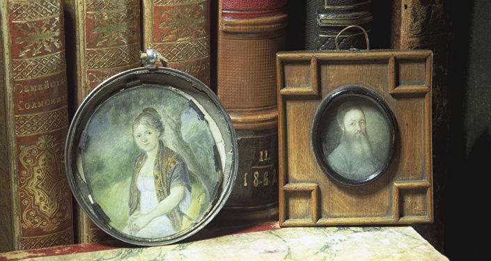 Retratos de la abuela y el tatarabuelo de Fiódor Dostoievski