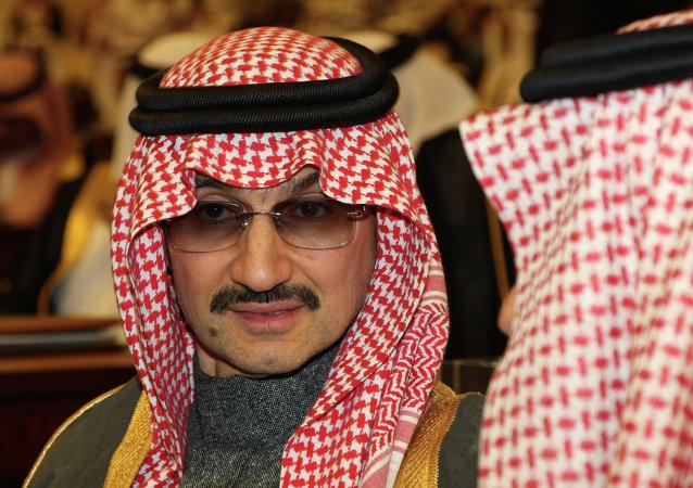 El príncipe de Arabia Saudí Al Walid bin Talal