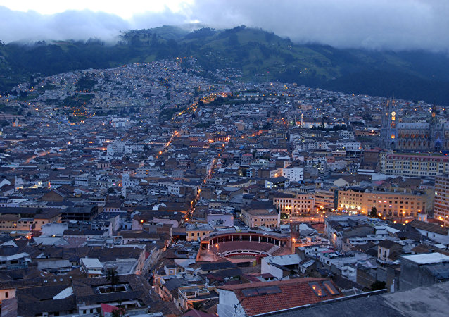 Quito, capital del Ecuador