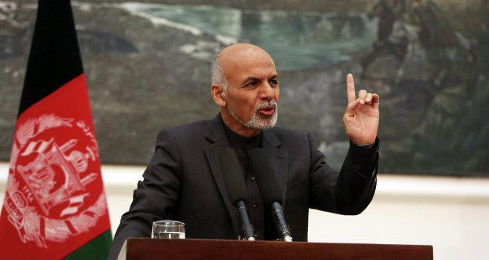 Ashraf Ghani, el presidente de Afganistán