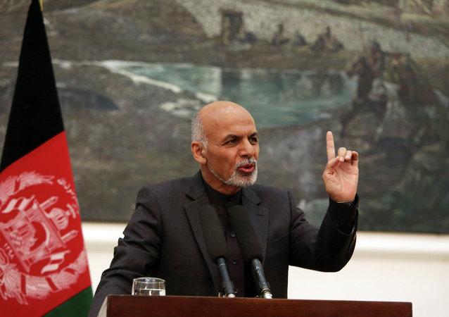 Ashraf Ghani, el presidente de Afganistán (archivo)