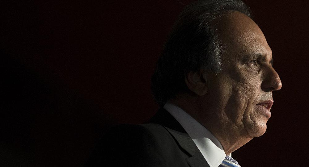 Luiz Fernando Pezao, exgobernador del estado de Río de Janeiro (archivo)