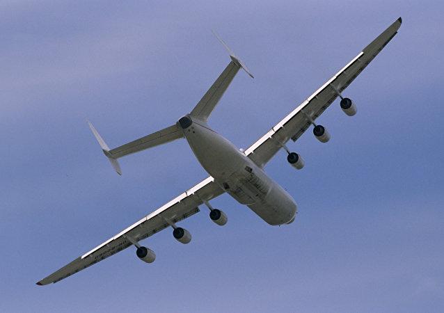 Un Antónov An-225, el avión más grande del mundo (archivo)