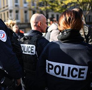 La policía francesa