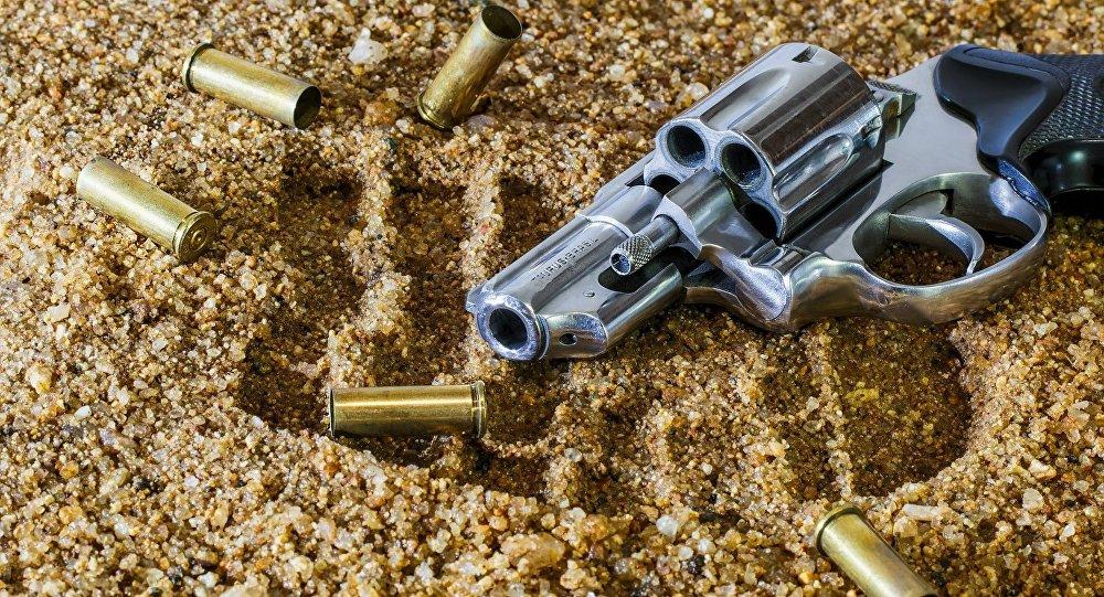 Una arma