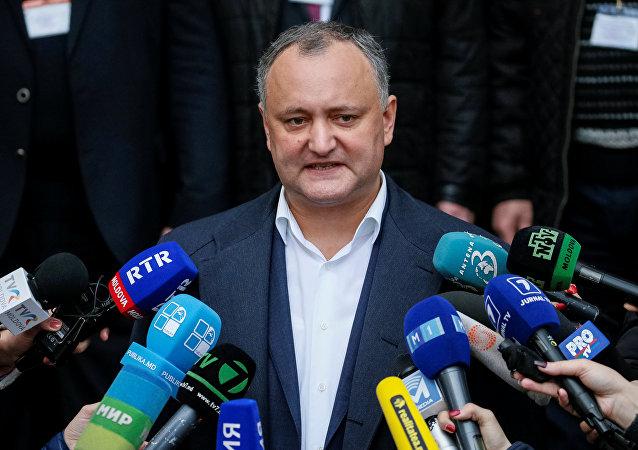 Igor Dodon, presidente de Moldavia