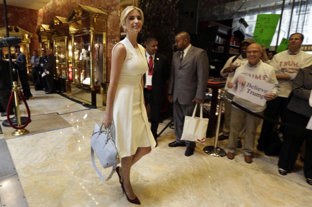 Ivanka Trump, la 'brillante estrella' del nuevo presidente de EEUU