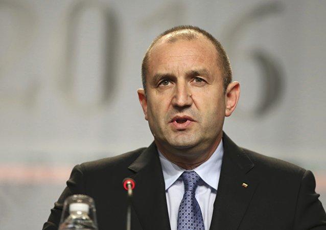 Rumen Radev, presidente de Bulgaria