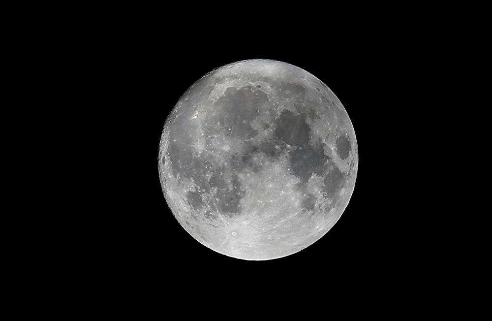 La superluna, desde distintos puntos de la Tierra