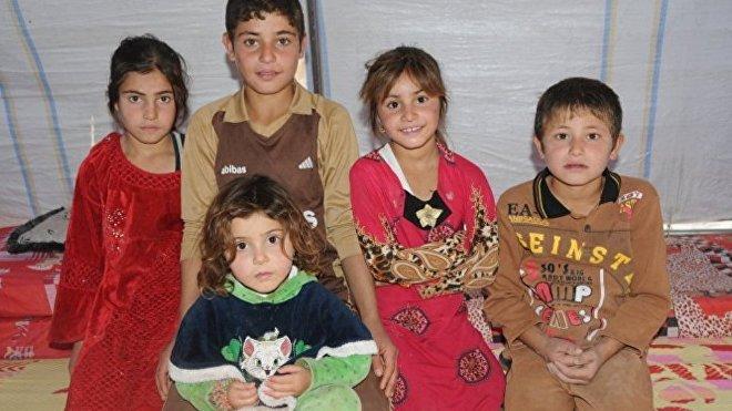 Los niños de Mosul en el campo de refugiados Hazir