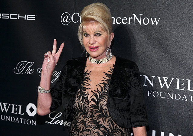 Ivana Trump, ex esposa de Donald Trump