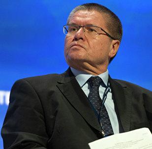 Alexéi Uliukáev, ministro ruso de Desarrollo Económico