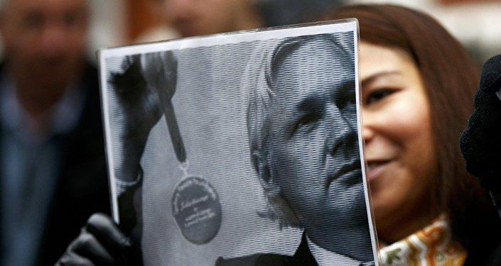 Julián Assange 'perdió la calidad de asilado — Fabricio Villamar