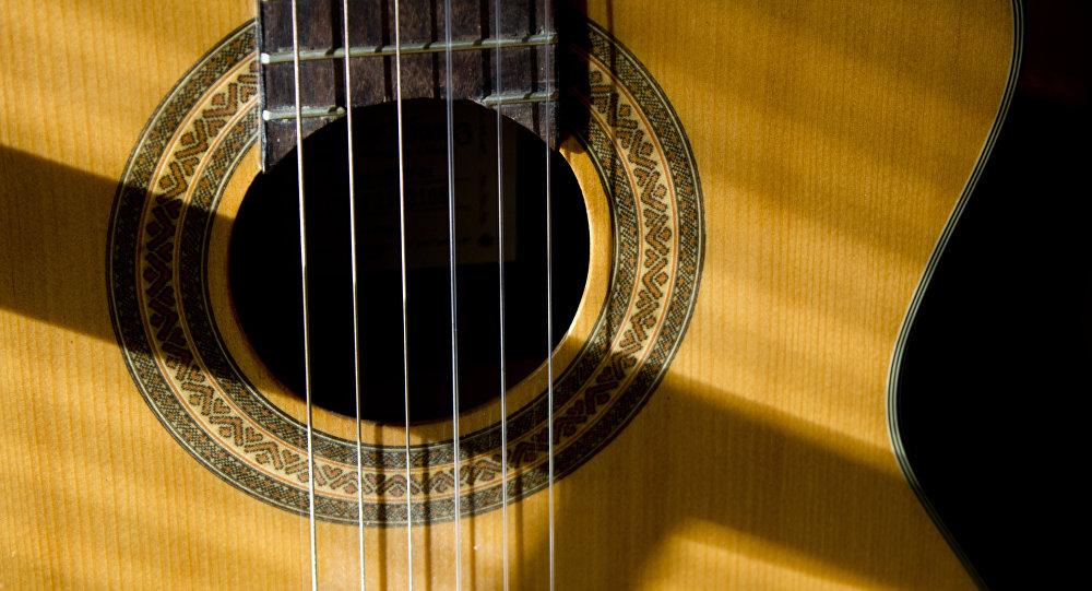 Una guitarra (imagen referencial)