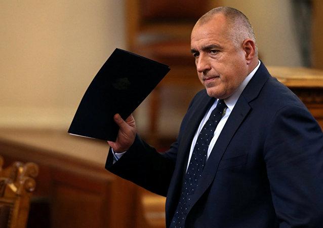 Boyko Borisov, el primer ministro de Bulgaria
