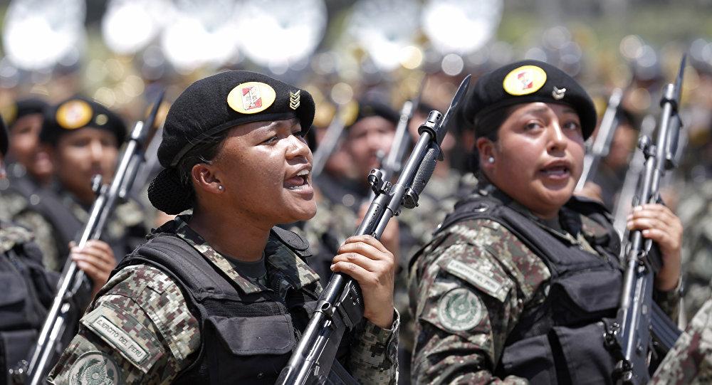 Mujeres en el Ejército de Perú