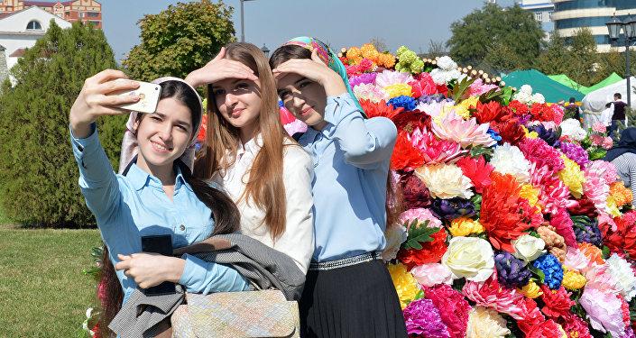 La celebración del día de la ciudad en Grozni, capital de Chechenia