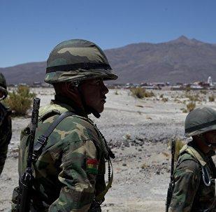 Soldados bolivianos (archivo)