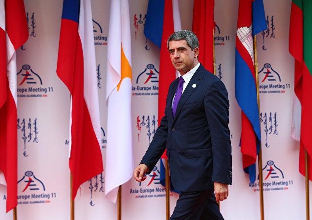 Rosen Plevneliev, presidente saliente de Bulgaria