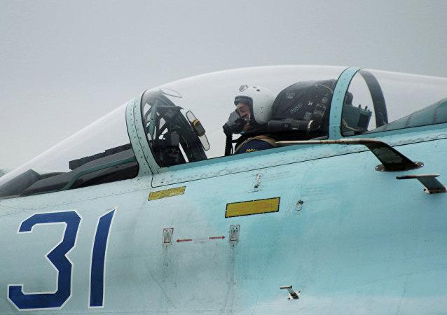 Caza ruso S7-24SM en Sebastopol
